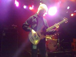 Boris plays bass
