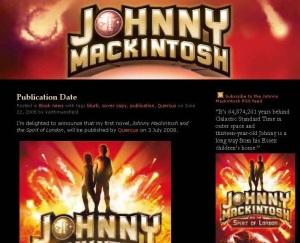 johnnymackintosh.com screenshot