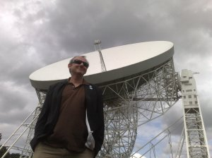 Keith Mansfield at Jodrell Bank