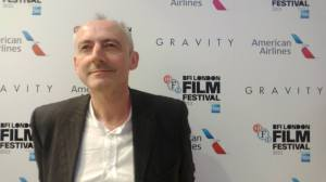 Author Keith Mansfield at the Gravity premiere
