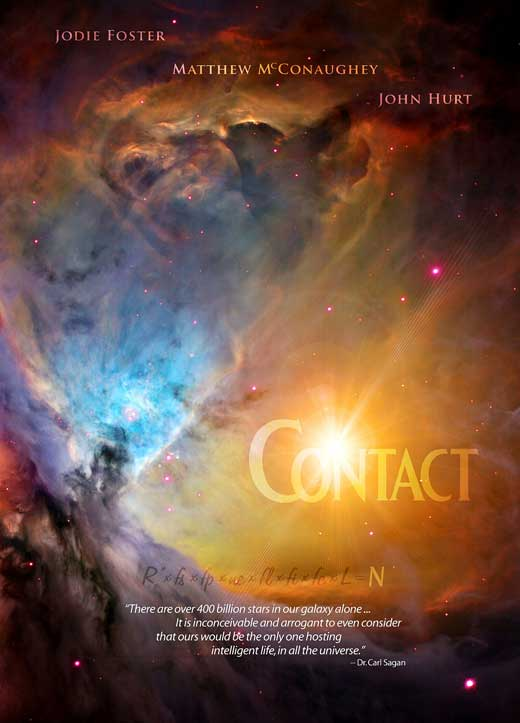 an analysis of the movie contact based on the novel by carl sagan Main » advisory board » ann druyan was the co-writer and co-producer of the movie contact, based on the novel by carl sagan by the same news & analysis.